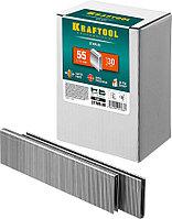 Скобы для степлера узкие, Kraftool, скобы тип 55, 30 мм (31789-30)
