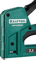 """Степлер для скоб """"Universal"""" (7-в-1), KRAFTOOL скобы 53, 53F, 140, 13, 36, 300, 500 (31524), фото 3"""