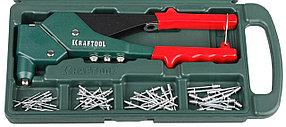 Заклепочник поворотный RX-7, KRAFTOOL заклепки вытяжные 2.4-4.8 мм (31176-H6)