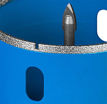"""Коронка по кафелю и стеклу ЗУБР, 68 мм, Р 60, алмазная, серия """"Профессионал"""" (29850-68), фото 3"""