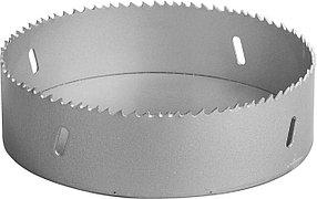 Коронка биметаллическая ЗУБР, 133 мм, глубина сверления до 38 мм (29531-133_z01)