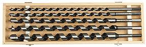 Набор сверл по дереву ЗУБР, 5 шт, 12-25х450 мм, спираль Левиса (2948-450-H5)