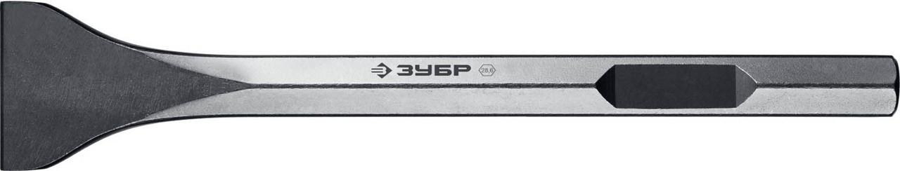 Лопаточное зубило ЗУБР, 80 х 400 мм, HEX 28.6 (Макита тип) (29380-80-400)
