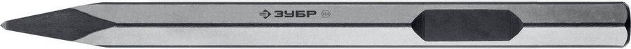 Пикообразное зубило ЗУБР, 400 мм, HEX 28.6 (Макита тип)  (29380-00-400), фото 2