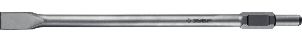 Плоское зубило ЗУБР, 35 х 600 мм, HEX 30 (29375-35-600)