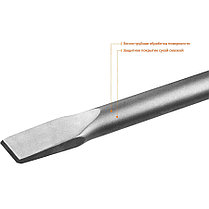 Плоское зубило ЗУБР, 35 х 600 мм, HEX 30 (29375-35-600), фото 2