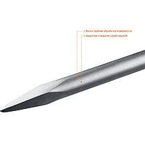 Пикообразное зубило ЗУБР, 600 мм, HEX 30 (29375-00-600), фото 2