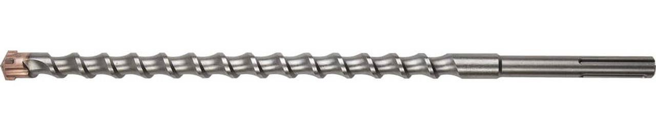 Бур по бетону ЗУБР, 24 x 520 мм, SDS-max (29350-520-24_z01)