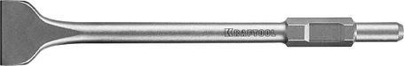 Лопаточное зубило Kraftool, 75 х 400 мм, HEX 30 (29345-75-450), фото 2
