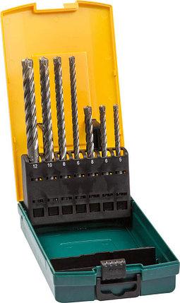 Набор буров Kraftool, 7 шт: 5, 6, 8, 6, 8, 10, 12 мм, SDS-plus (29310-H7), фото 2