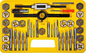 """Набор метчиков и плашек STAYER 40 предметов, легированная сталь, серия """"MaxCut"""" (2805-H40_z01), фото 2"""