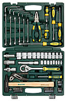 Набор слесарно-монтажного инструмента Kraftool, 66 шт. (27976-H66)