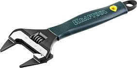 "Ключ разводной KRAFTOOL 200/38 мм, Cr-V, серия ""SlimWide-S"" (27263-20)"