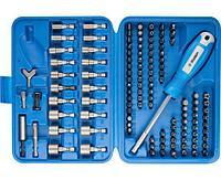 Набор: держатель, биты, биты-головки ЗУБР 120 шт., Cr-Mo (26096-H122)