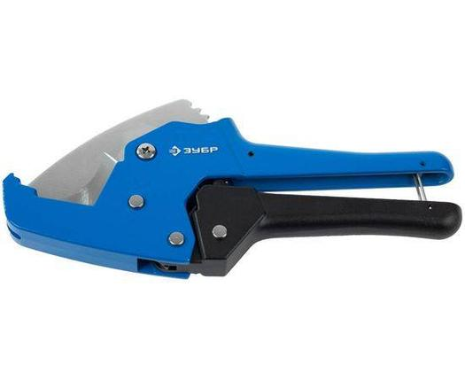 Ножницы автоматические для пластиковых труб ЗУБР 0-42 мм (23705-42), фото 2