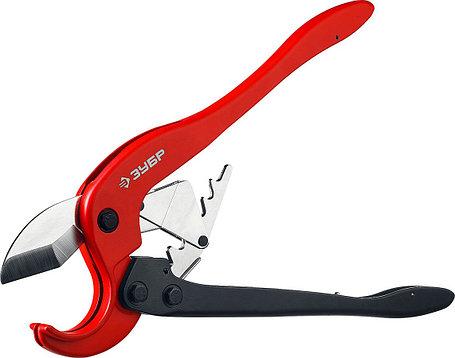 Ножницы двуручные для пластиковых труб ЗУБР 0-63 мм (23703-63), фото 2