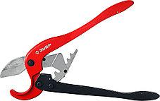 Ножницы двуручные для пластиковых труб ЗУБР 0-63 мм (23703-63), фото 3