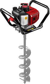 Мотобур (бензобур) ЗУБР, 60-200 мм, 52 см3, 1 оператор, без шнека (МБ1-200)