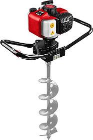 Мотобур (бензобур) ЗУБР, 60-150 мм, 43 см3, 1 оператор, без шнека (МБ1-150)
