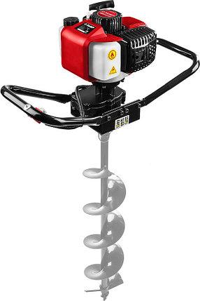 Мотобур (бензобур) ЗУБР, 60-150 мм, 43 см3, 1 оператор, без шнека (МБ1-150), фото 2
