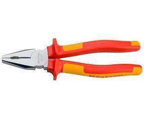 Плоскогубцы хромированные Kraftool, 200 мм, Cr-Mo (2202-1-20_z01)