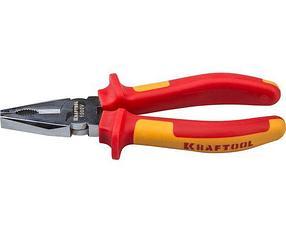 Плоскогубцы хромированные Kraftool, 180 мм, Cr-Mo (2202-1-18_z01)