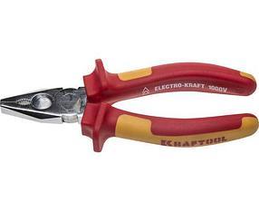 Плоскогубцы хромированные Kraftool, 160 мм, Cr-Mo (2202-1-16_z01)