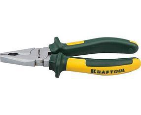 Плоскогубцы комбинированные KRAFT-MAX, Kraftool, 200 мм, Cr-Mo (22011-1-20)
