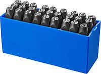 Клейма штамповочные ЗУБР высота буквы 8 мм, Cr-V сталь, серия «Профессионал» (21505-08_z01)