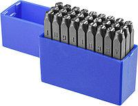 Клейма штамповочные ЗУБР высота буквы 5 мм, Cr-V сталь, серия «Профессионал» (21505-05_z01)