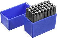 Клейма штамповочные ЗУБР высота буквы 5 мм, Cr-V сталь, серия «Профессионал» (21503-05_z01)