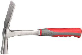 Молоток-кирочка каменщика ЗУБР, цельнокованый, 600 г (20145-600)