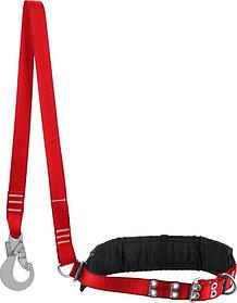 Ленточный строп с амортизатором ЗУБР, лямочный пояс Алтай (11584)