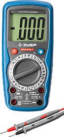 Мультиметр цифровой ЗУБР PRO-815-Т (59815-T)