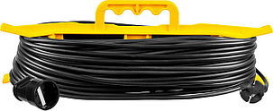 Удлинитель электрический силовой Stayer, 50 м, 2200 Вт, 1 гнездо (55018-50_z01), фото 2