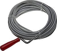 Трос сантехнический ЗУБР, 10 м, пластиковая ручка (51902-10)