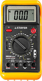 Мультиметр цифровой STAYER, Highdigital (45320-T)