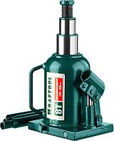 """Домкрат  гидравлический бутылочный сварной телескопический Kraftool, 8 т., 170-430 мм, серия """"Double ram"""" (43463-8)"""