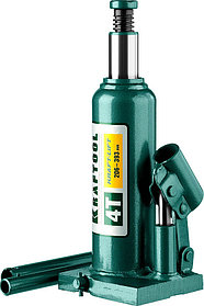 "Домкрат бутылочный Kraftool, 4 т., 206-393 мм, серия ""Kraft-Lift"" (43462-4_z01)"