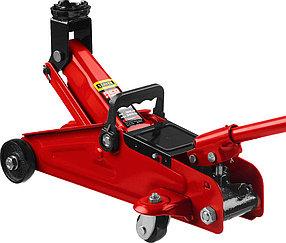 """Домкрат подкатной Stayer, 2 т., 125-320 мм, гидравлический, серия """"Red force"""" (43152-2)"""
