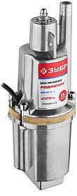 Насос вибрационный погружной ЗУБР, 225 Вт, забор воды верхний (ЗНВП-300-15_М2)