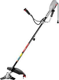 Триммер электрический ЗУБР, 1500 Вт, 7500 об/мин, леска/нож (ЗКРЭ-42-1500)