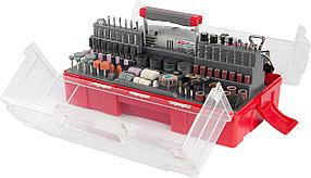Гравер электрический ЗУБР, с набором мини-насадок, 130 Вт, 8000*35000 об/мин, 242 шт. (ЗГ-130ЭК H242)