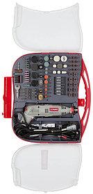 Гравер электрический ЗУБР, с набором мини-насадок, 130 Вт, 8000*35000 об/мин, 219 шт. (ЗГ-130ЭК H219)