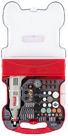 Гравер электрический ЗУБР, с набором мини-насадок, 130 Вт, 8000*35000 об/мин, 172 шт. (ЗГ-130ЭК H172)