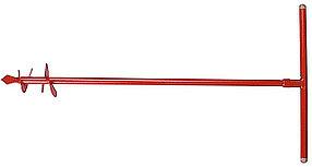 Бур садовый ручной, диаметр шнека 135 мм, твердосплавная напайка на рабочей кромке (39491-135)