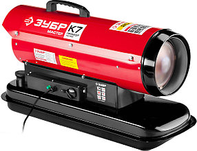 Пушка дизельная ЗУБР, 20 кВт, прямой нагрев (ДП-К7-20000)