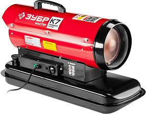 Пушка дизельная ЗУБР, 15 кВт, прямой нагрев (ДП-К7-15000)