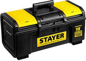 """Ящик для инструмента """"Toolbox-19"""" Stayer, 480*270*240 мм, пластиковый, серия """"Professional"""" (38167-19)"""