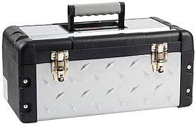 """Ящик для инструмента """"Спец"""" ЗУБР, 470*240*215 мм, (18""""), металлический, серия """"Профессионал"""" (38155-18)"""